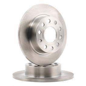 DDF1224 Bremsscheiben FERODO DDF1224C - Große Auswahl - stark reduziert
