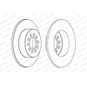 DDF1224 Bremsscheiben FERODO in Original Qualität