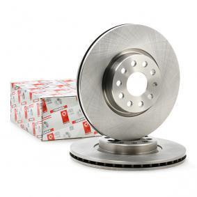 DDF1305 FERODO PREMIER ventilado, con tornillos Ø: 312mm, Núm. orificios: 5, Espesor disco freno: 25mm Disco de freno DDF1305 a buen precio