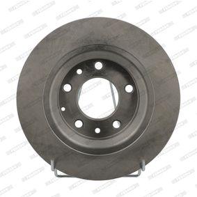 2 piezas Ferodo ddf141 Discos de freno