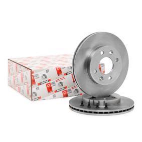 DDF158C FERODO PREMIER belüftet, mit Schrauben Ø: 238mm, Lochanzahl: 4, Bremsscheibendicke: 20mm Bremsscheibe DDF158 günstig kaufen