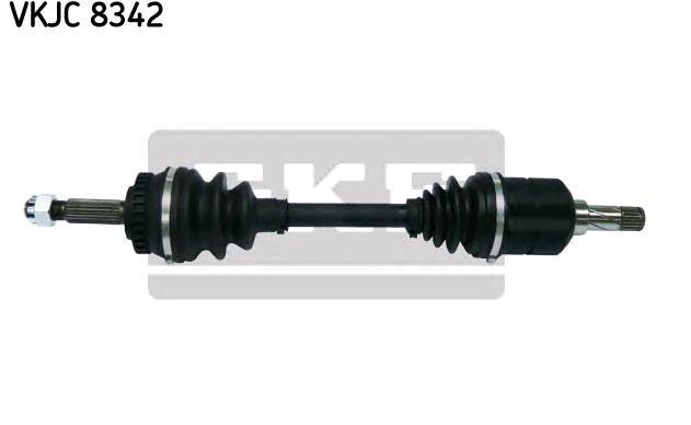 OPEL COMBO 2019 Antriebswellen - Original SKF VKJC 8342 Länge: 584mm, Außenverz.Radseite: 22, Zähnez. ABS-Ring: 29
