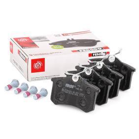 Sada brzdových platničiek kotúčovej brzdy FDB1083 PEUGEOT EXPERT v zľave – kupujte hneď!