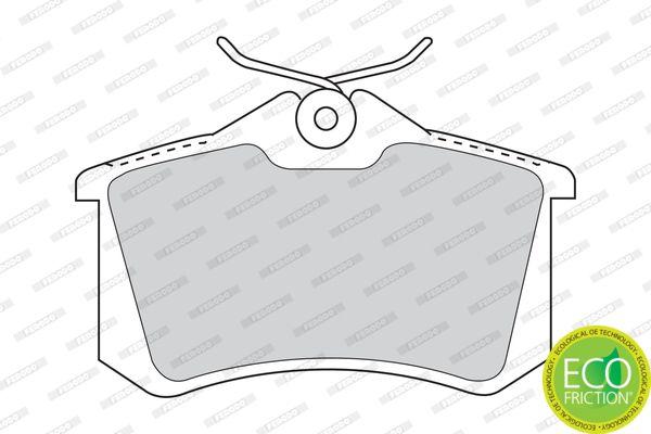FDB1083 Bremsbelagsatz, Scheibenbremse FERODO Test
