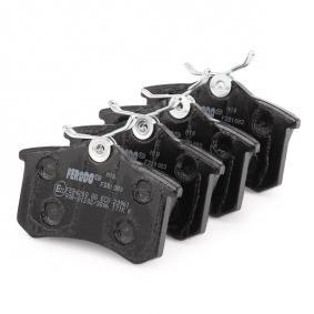FDB1083 Bremsbelagsatz, Scheibenbremse FERODO FDB1083 - Große Auswahl - stark reduziert