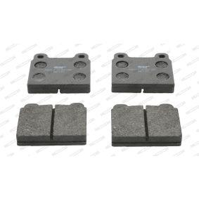 Brake Pad Set, disc brake FDB11 for ALFA ROMEO MONTREAL at a discount — buy now!