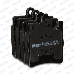 FDB1322 Bremsbelagsatz, Scheibenbremse FERODO Test