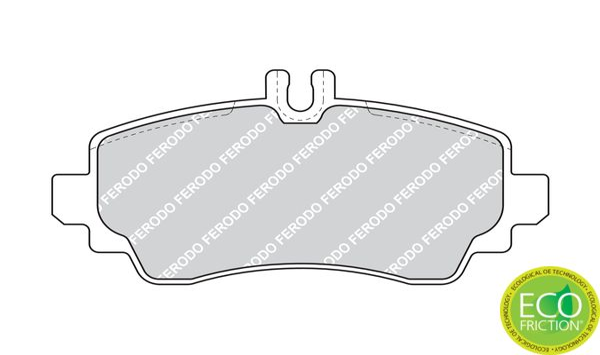 Bremsbelagsatz FERODO FDB1357