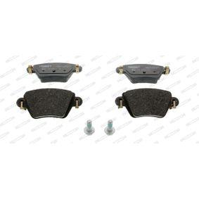 23557 FERODO PREMIER nicht für Verschleißwarnanzeiger vorbereitet Höhe 1: 52mm, Dicke/Stärke: 16,9mm Bremsbelagsatz, Scheibenbremse FDB1380 günstig kaufen