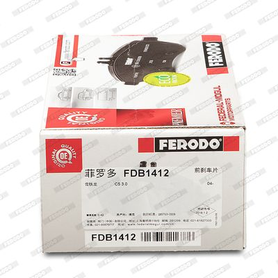 FDB1412 Bremsbeläge FERODO FDB1412 - Große Auswahl - stark reduziert