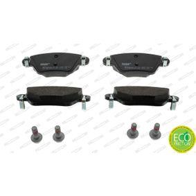 23557 FERODO PREMIER ECO FRICTION nicht für Verschleißwarnanzeiger vorbereitet, mit Bremssattelschrauben Höhe 1: 49,7mm, Dicke/Stärke: 16,8mm Bremsbelagsatz, Scheibenbremse FDB1416 günstig kaufen