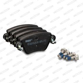 FDB1416 Bremsbelagsatz, Scheibenbremse FERODO - Markenprodukte billig