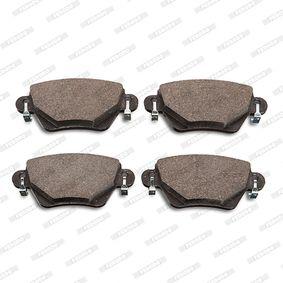 FDB1416 Bremsbelagsatz, Scheibenbremse FERODO in Original Qualität