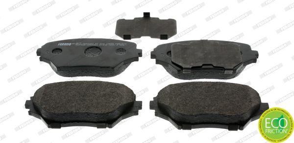 Brake pad set FDB1514 FERODO — only new parts