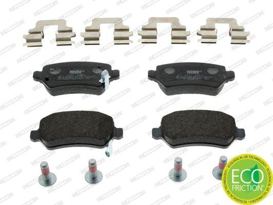 FERODO: Original Bremsbeläge FDB1521 (Höhe 1: 43mm, Dicke/Stärke: 15,2mm)