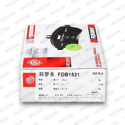 FDB1521 Bremsbeläge FERODO 23654 - Große Auswahl - stark reduziert