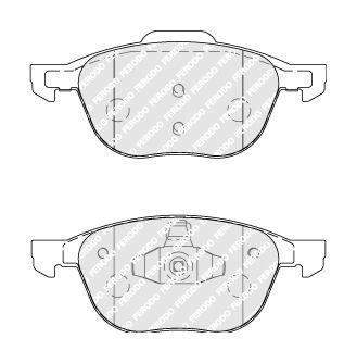 FDB1594 Kit Pasticche Freni FERODO qualità originale