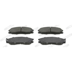 Scheibenbremse FERODO FDB1601 Bremsbelagsatz