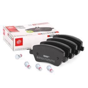 23973 FERODO PREMIER ECO FRICTION nicht für Verschleißwarnanzeiger vorbereitet, mit Bremssattelschrauben Höhe 1: 52mm, Dicke/Stärke: 16,8mm Bremsbelagsatz, Scheibenbremse FDB1617 günstig kaufen