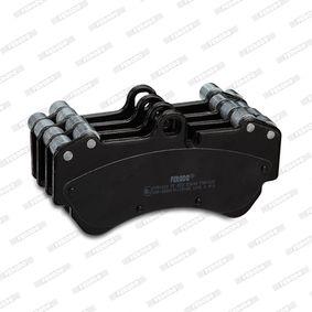 FDB1625 Juego de pastillas de freno FERODO - Productos de marca económicos