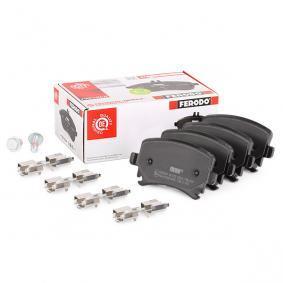 23914 FERODO PREMIER ECO FRICTION nicht für Verschleißwarnanzeiger vorbereitet, mit Bremssattelschrauben Höhe 1: 55,5mm, Dicke/Stärke: 16,9mm Bremsbelagsatz, Scheibenbremse FDB1636 günstig