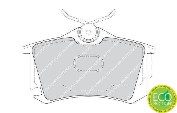 23823 FERODO PREMIER ECO FRICTION nicht für Verschleißwarnanzeiger vorbereitet, mit Bremssattelschrauben, mit Zubehör Höhe 1: 53mm, Dicke/Stärke: 17mm Bremsbelagsatz, Scheibenbremse FDB1637 günstig kaufen