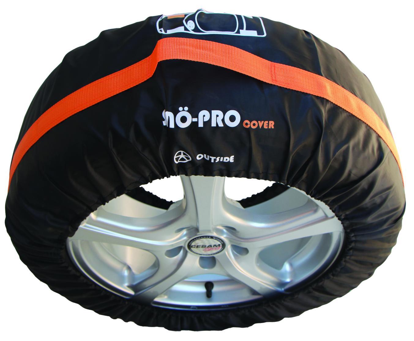 Comprare 145 SNO-PRO nero, 19Inch Copri pneumatici 145 poco costoso