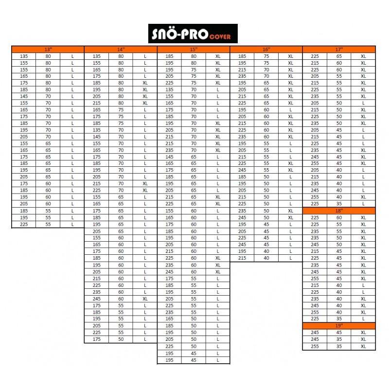 SNO-PRO | Copri pneumatici 145