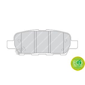 Bremsbelagsatz Scheibenbremse FERODO FDB1693
