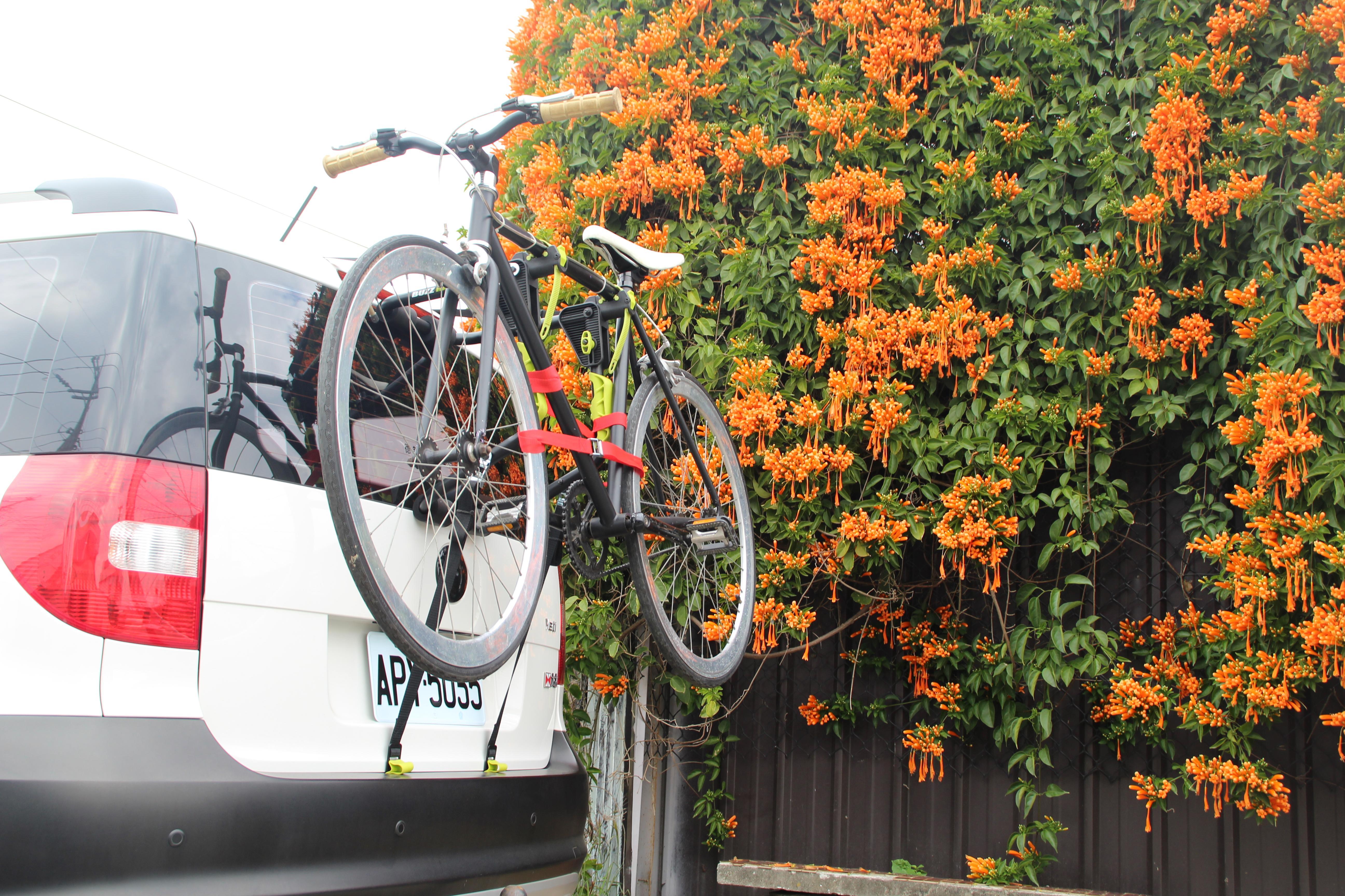1022 Porta-bicicleta traseira BUZZ RACK originais de qualidade