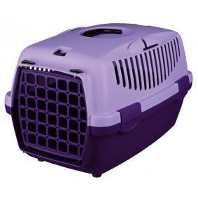 51699 TRIXIE Storlek: XS, Färg: violett L: 48cm, B: 31cm, H: 32cm Transportbur för hund 51699 köp lågt pris