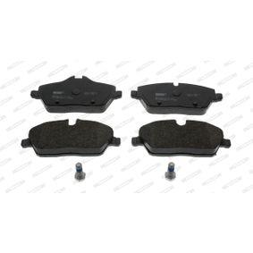 Scheibenbremse FERODO FDB1747 Bremsbelagsatz
