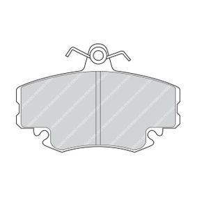 FDB1781 Bremsbelagsatz, Scheibenbremse FERODO FDB1781 - Große Auswahl - stark reduziert