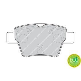 FDB1784 Bremsbelagsatz FERODO - Markenprodukte billig