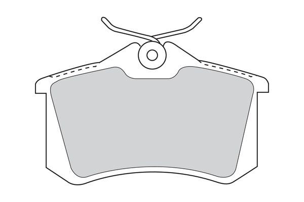 FDB1788 Les plaquettes de frein FERODO - L'expérience aux meilleurs prix
