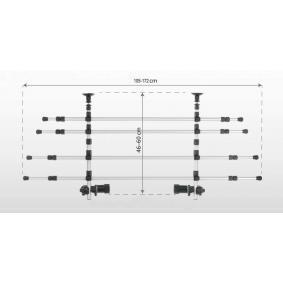 96745Grille de fermeture, coffre à bagages / de chargement TRIXIE - Enorme sélection — fortement réduit