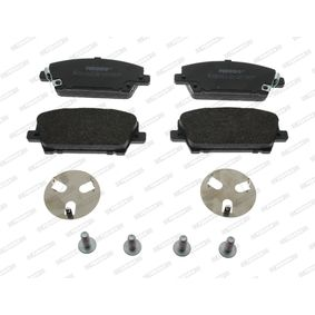 FERODO | Brake Pad Set, disc brake FDB1859