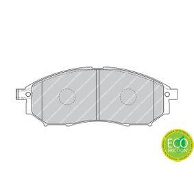 FDB1881 Bremsbelagsatz, Scheibenbremse FERODO in Original Qualität