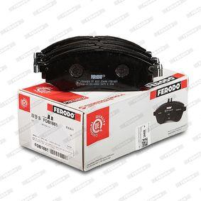 FDB1881 Bremsbelagsatz, Scheibenbremse FERODO - Markenprodukte billig
