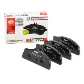 Sada brzdových platničiek kotúčovej brzdy FDB22 FIAT 850 v zľave – kupujte hneď!