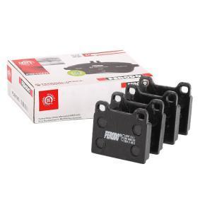 Sada brzdových platničiek kotúčovej brzdy FDB2M OPEL ASCONA v zľave – kupujte hneď!