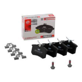20961 FERODO PREMIER nicht für Verschleißwarnanzeiger vorbereitet, mit Bremssattelschrauben Höhe 1: 53mm, Dicke/Stärke: 15,87mm Bremsbelagsatz, Scheibenbremse FDB4183 günstig kaufen