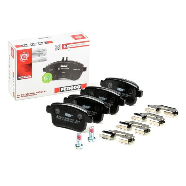 Freno A Disco - confezione 4 pezzi Ferodo FDB4186 Premier Kit Pastiglie Freno