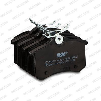 FDB4260 Bremsbelagsatz, Scheibenbremse FERODO Test