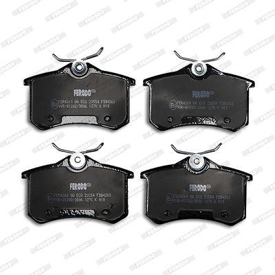 Bremsbelagsatz, Scheibenbremse FDB4260 von FERODO