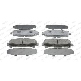 24786 FERODO PREMIER ECO FRICTION mit akustischer Verschleißwarnung Höhe 1: 64,9mm, Dicke/Stärke 1: 17,3mm, Dicke/Stärke: 17,7mm Bremsbelagsatz, Scheibenbremse FDB4270 günstig kaufen