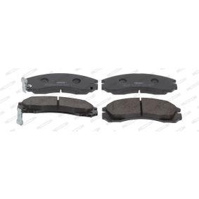 Sada brzdových platničiek kotúčovej brzdy FDB765 MITSUBISHI GALLOPER v zľave – kupujte hneď!