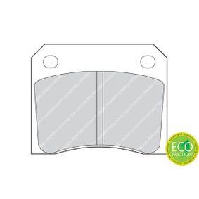 Bremsbelagsatz Scheibenbremse FERODO FDB815