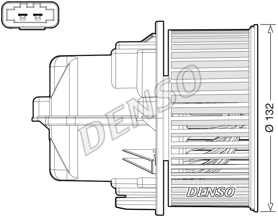 Innenraumgebläse DENSO DEA33002