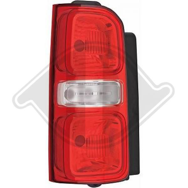 Rear tail light 4098091 DIEDERICHS — only new parts